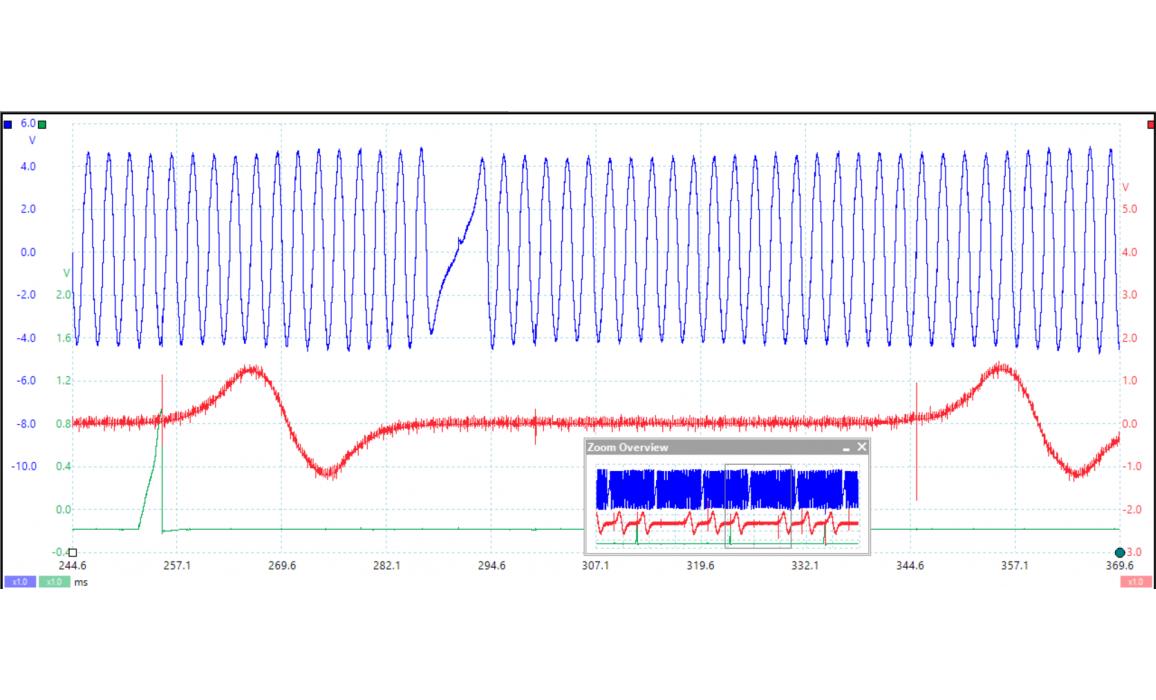 Эталон синхронизации-Сигнал ДПКВ + ДПРВ-Toyota-Camry 2001-2006 : Image 2