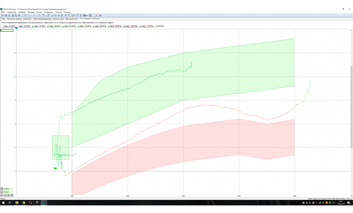 Эталон-In-cylinder pressure analysis / Px Script-Lexus-GS350 : Image 7