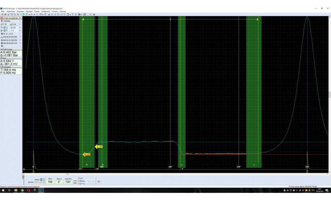 Эталон-In-cylinder pressure analysis / Px Script-Lexus-GS350 : Image 1