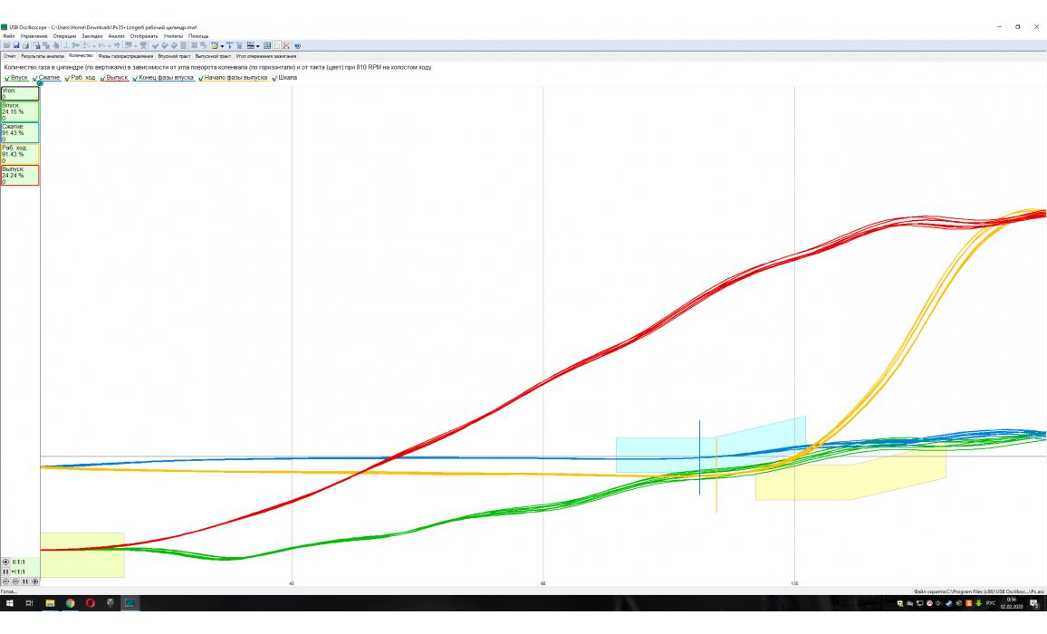 Эталон-In-cylinder pressure analysis / Px Script-Lexus-GS350 : Image 3