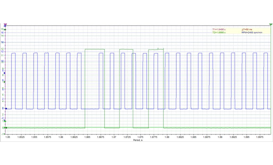 Good timing-CKP & CMP signal-Nissan-Almera 2000–2006 : Image 3