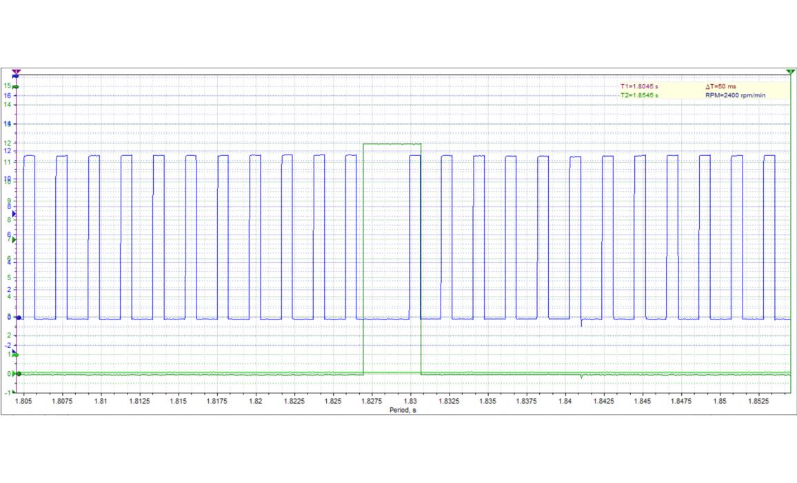 Good timing-CKP & CMP signal-Nissan-Almera 2000–2006 : Image 2