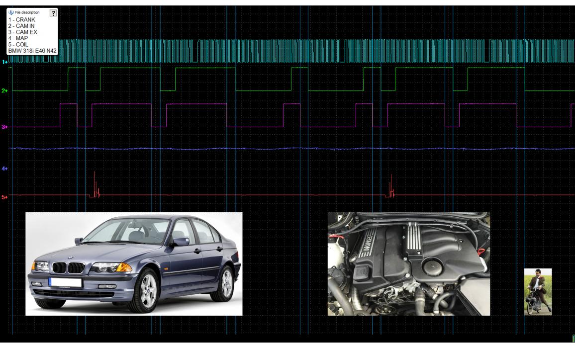Good timing-CKP & CMP signal-BMW-3 E46 1997-2006 : Image 2