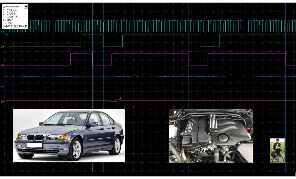Good timing-CKP & CMP signal-BMW-3 E46 1997-2006 : Image 1