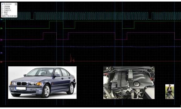 Good timing-CKP & CMP signal-BMW-3 E46 1997-2006 : Image 1