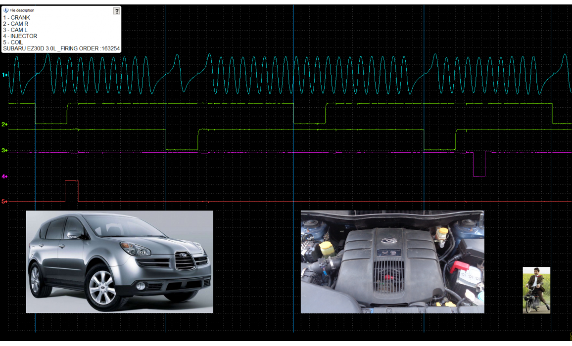 Good timing-CKP & CMP signal-Subaru-Tribeca 2004-2014 : Image 2