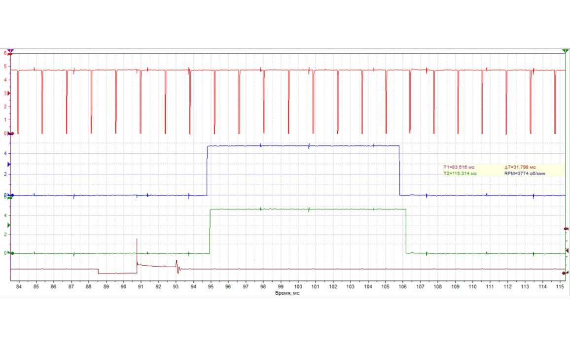 Эталон синхронизации-Сигнал ДПКВ + ДПРВ-BMW-1 F20/F21 2011- : Image 2