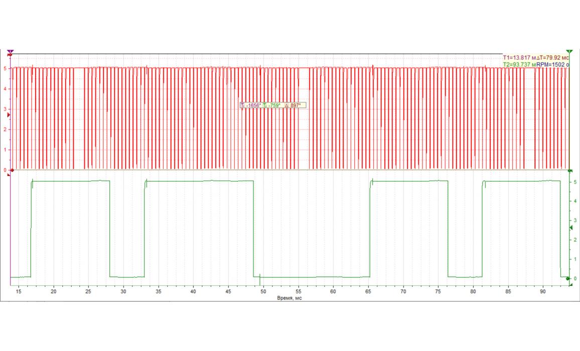 Good timing-CKP & CMP signal-Fiat-500L 2012– : Image 2