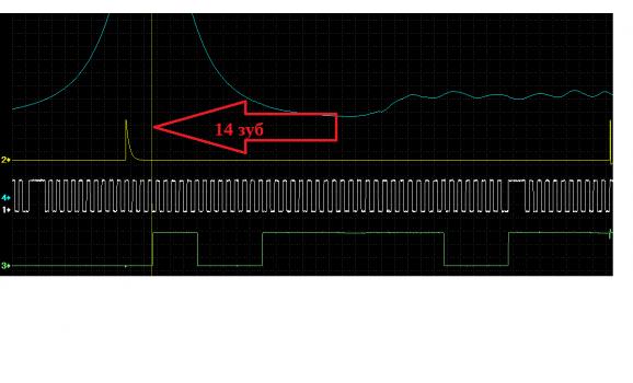 Good timing-CKP, CMP & in-cylinder pressure-VW-Golf 4 1997-2006 : Image 1