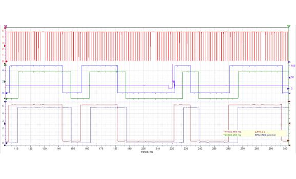 Good timing-CKP & CMP signal-BMW-5 F10/F11/F07/F18 2010-2017 : Image 1