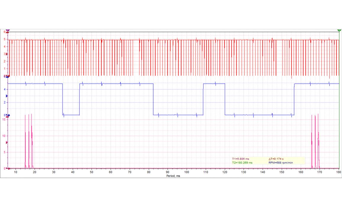 Good timing-CKP & CMP signal-BMW-3 F30/F31/F34/F35 2011- : Image 1