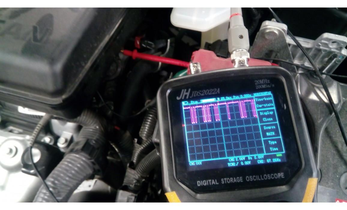 Эталон-Выходное напряжение-Nissan-X-Trail 2013- : Image 1