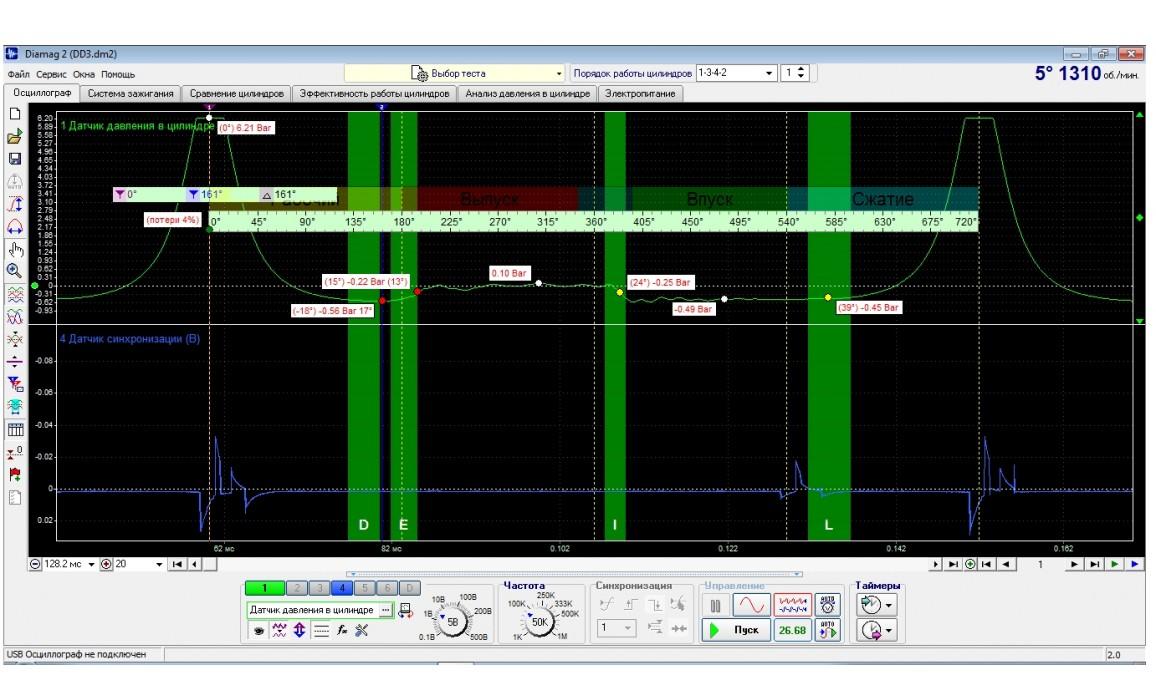 CAM retard-In-cylinder pressure-Ford-Escape 2001-2007 : Image 1
