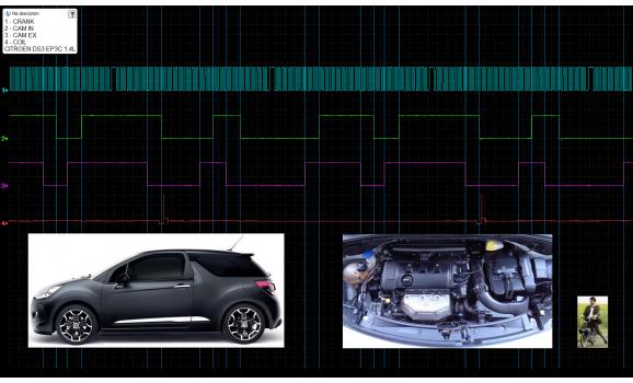 Good timing-CKP & CMP signal-Citroën-DS 3 2009-2016 : Image 1