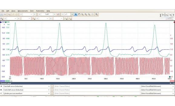 Good timing-CKP, CMP & in-cylinder pressure-Toyota-Prius 2003-2009 : Image 1