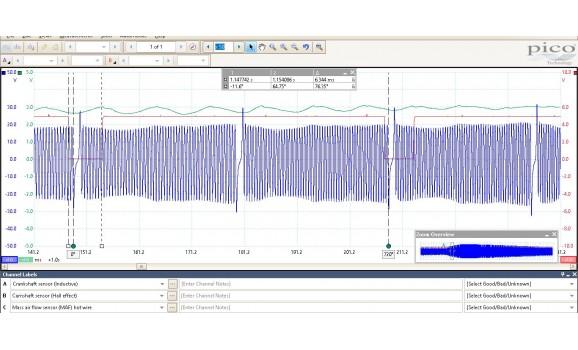 Good timing-CKP & CMP signal-Mercedes-W209 2002-2009 : Image 1