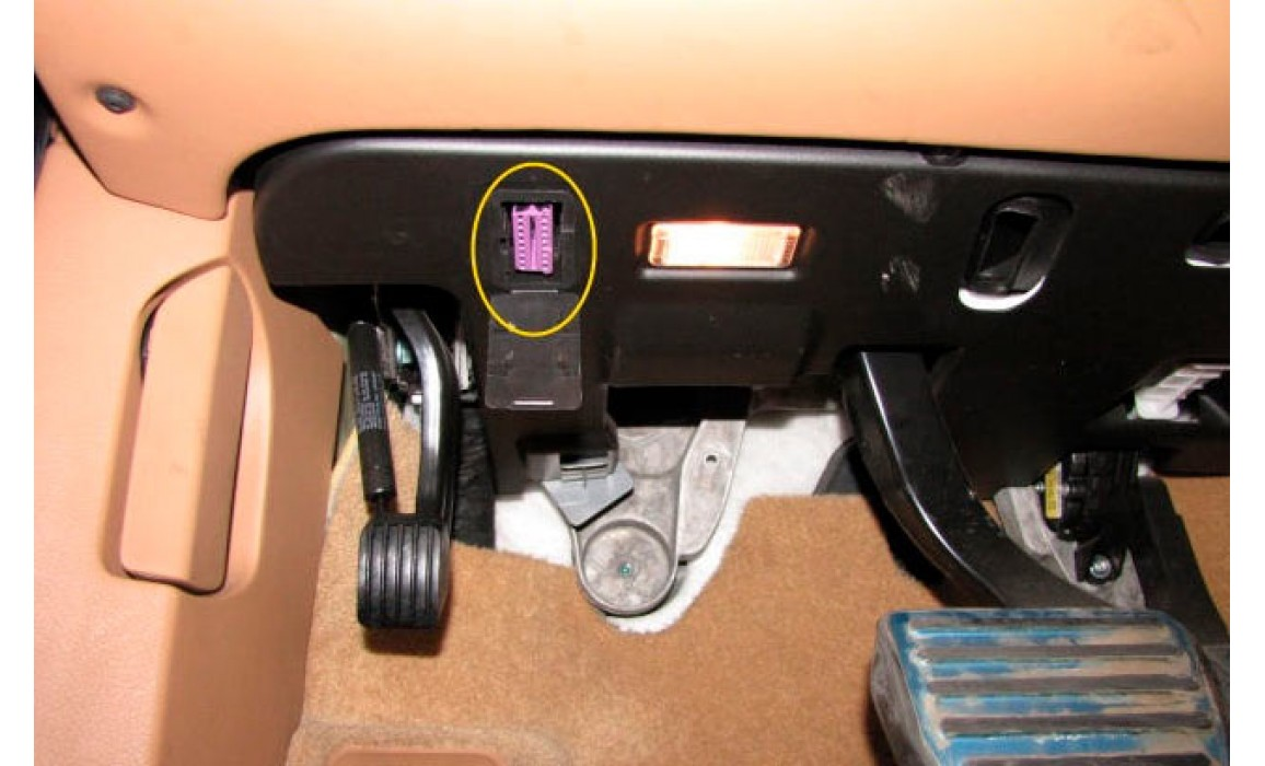 How to connect a scope-CKP & CMP signal-Porsche-Cayenne S 2003-2010 : Image 3