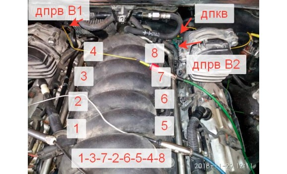 How to connect a scope-CKP & CMP signal-Porsche-Cayenne S 2003-2010 : Image 1