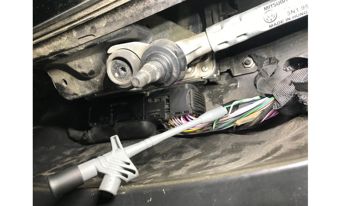 How to connect a scope-Output voltage-VW-Tiguan 2007-2017 : Image 1