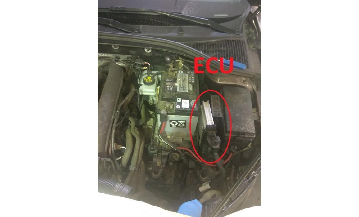 Как подключить осциллограф-Выходное напряжение-Skoda-Octavia 3 (5E) 2012-2020 : Image 1