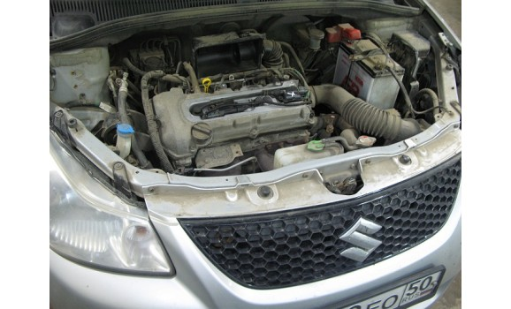 How to connect a scope-Output voltage-Suzuki-SX4 2006 - 2014 : Image 1