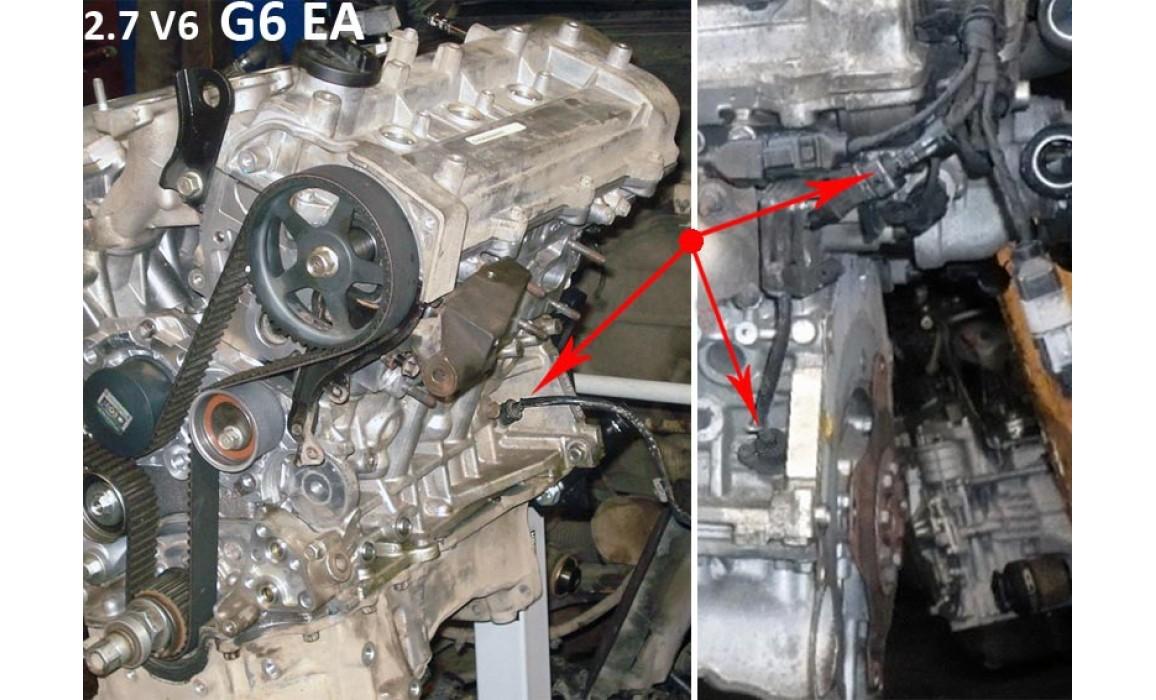 Как подключить осциллограф-Сигнал ДПКВ + ДПРВ-Hyundai-Santa Fe 2005–2012 : Image 1