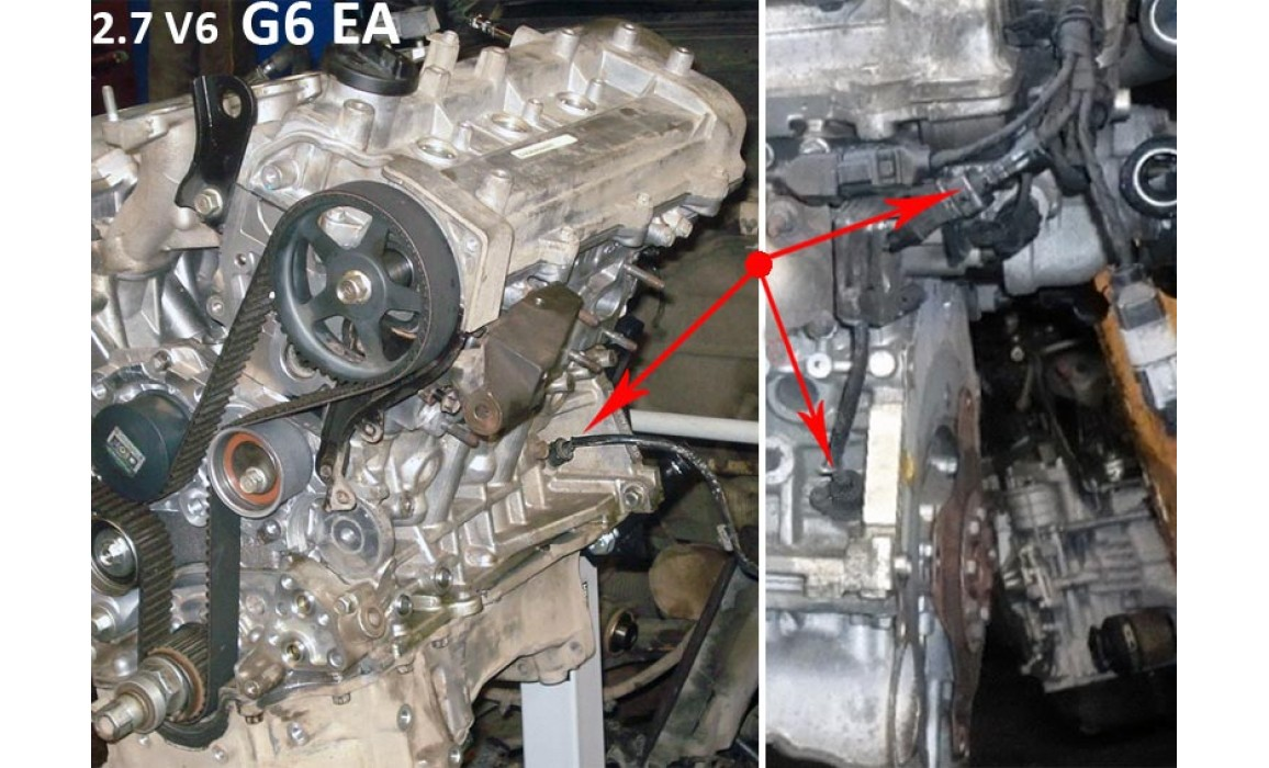 How to connect a scope-CKP & CMP signal-Hyundai-Santa Fe 2005–2012 : Image 1