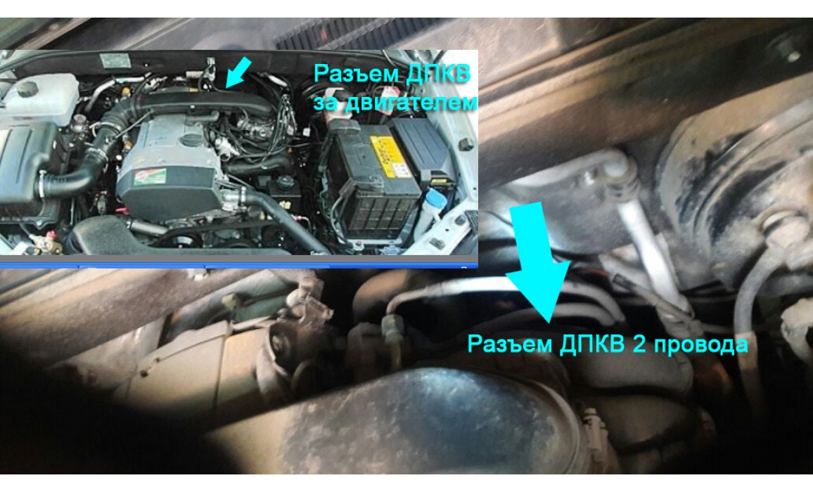 How to connect a scope-CKP & CMP signal-SsangYong-Kyron 2005-2014 : Image 1