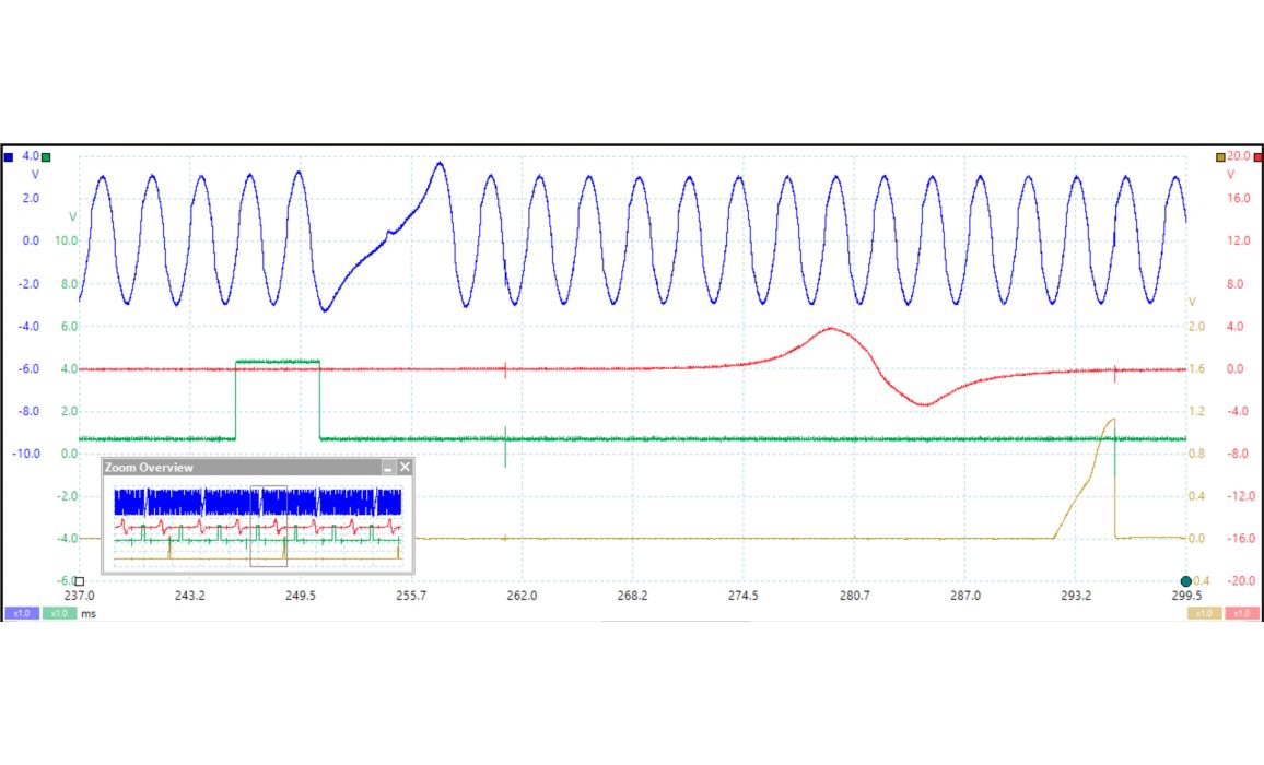 Эталон синхронизации-Сигнал ДПКВ + ДПРВ-Lexus-ES (XV30) 2001–2006 : Image 2