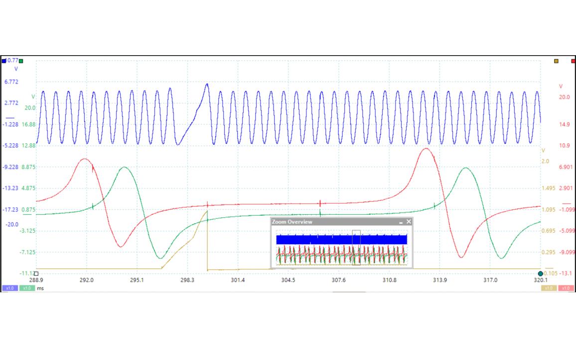 Эталон синхронизации-Сигнал ДПКВ + ДПРВ-Lexus-GS 1997-2005 : Image 2