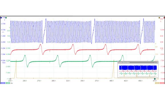 Эталон синхронизации-Сигнал ДПКВ + ДПРВ-Lexus-RX 2003-2008 : Image 1