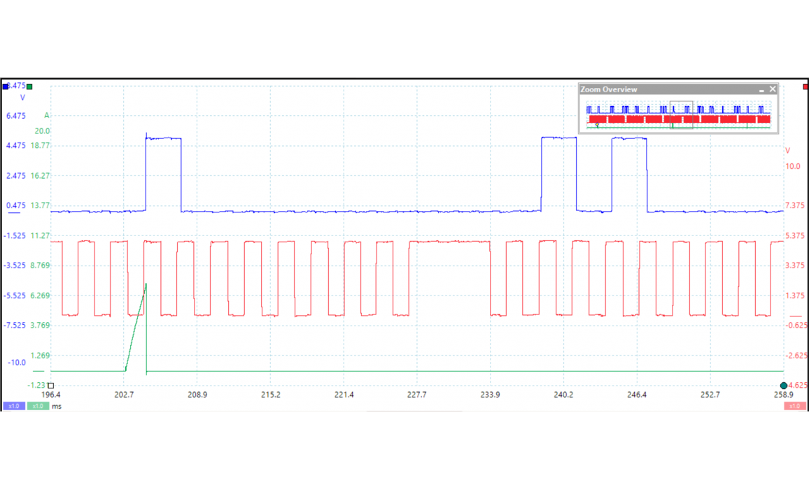 Эталон синхронизации-Сигнал ДПКВ + ДПРВ-Dodge-Charger (LX/LD) 2006-2010 : Image 2