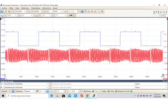 Good timing-CKP & CMP signal-Chevrolet-Aveo 2012- : Image 1