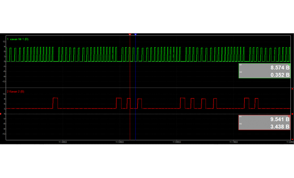 Faulty CMP sensor-CKP & CMP signal-Nissan-AD Y11 1999-2008 : Image 1