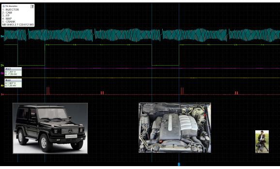 Good timing-CKP & CMP signal-Mercedes-W463 1990-2018 : Image 1