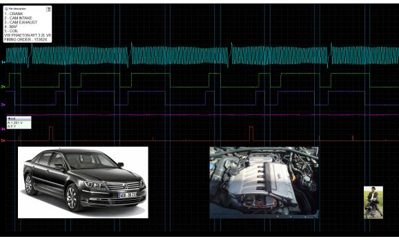 Good timing-CKP & CMP signal-Volkswagen-Phaeton 2002-2016 : Image 1