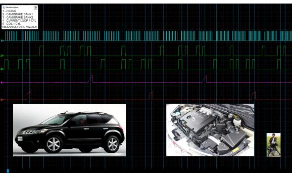 Good timing-CKP & CMP signal-Nissan-Murano 2009-2014 : Image 1
