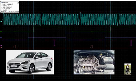 Good timing-CKP & CMP signal-Hyundai-Solaris 2017- : Image 1