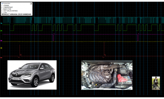 Good timing-CKP & CMP signal-Renault-Arkana 2019- : Image 1