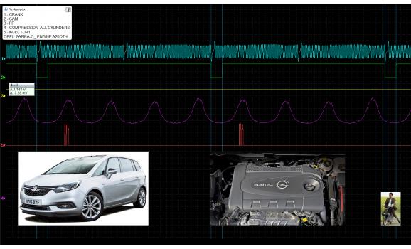 Good timing-CKP & CMP signal-Opel-Zafira-C 2011-2019 : Image 1