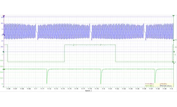 Good timing-CKP & CMP signal-Mercedes-W210 1996-2003 : Image 1