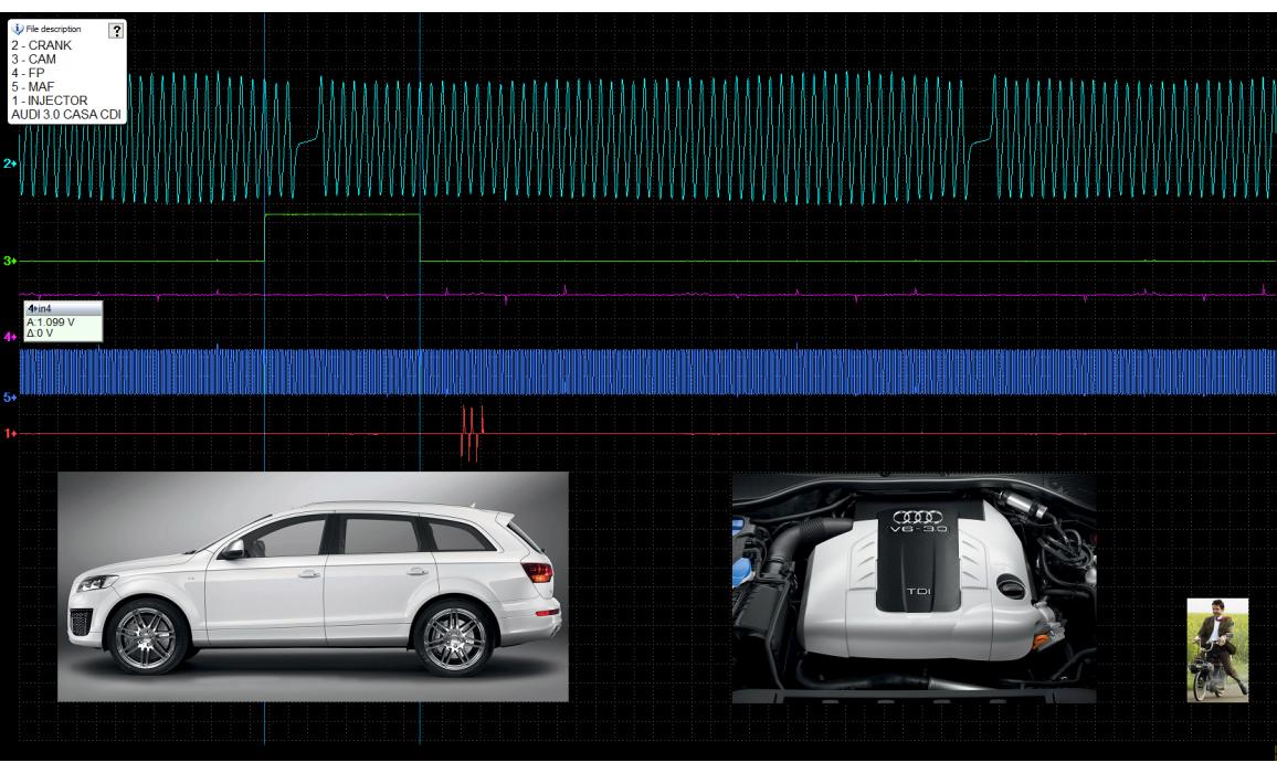 Good timing-CKP & CMP signal-Audi-Q7 (4L) 2005-2015 : Image 2