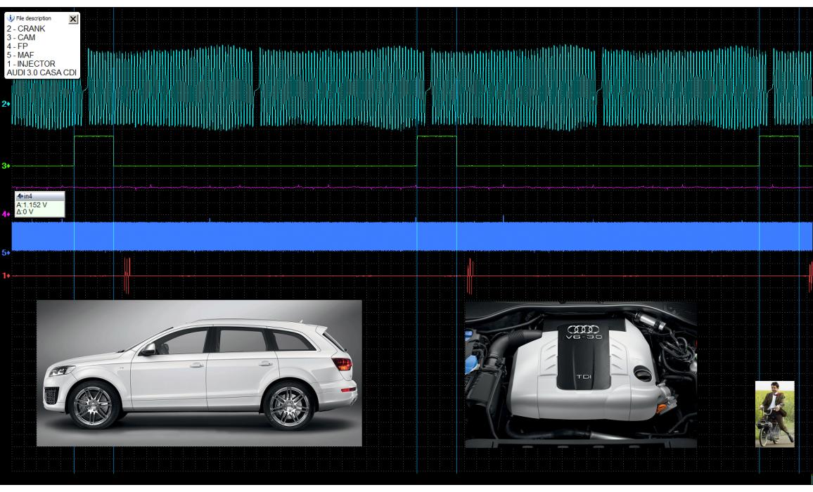 Good timing-CKP & CMP signal-Audi-Q7 (4L) 2005-2015 : Image 1