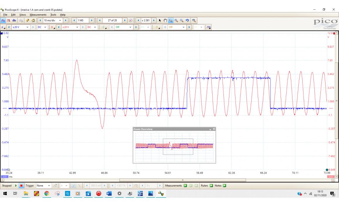Good timing-CKP & CMP signal-Opel-Meriva A 2003-2010 : Image 5