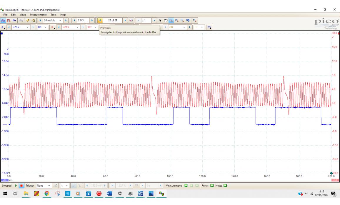 Good timing-CKP & CMP signal-Opel-Meriva A 2003-2010 : Image 4