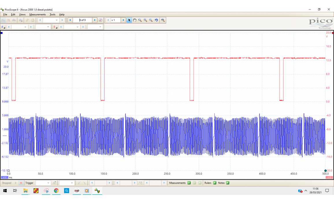 Good timing-CKP & CMP signal-Ford-Focus 2004-2011 : Image 1
