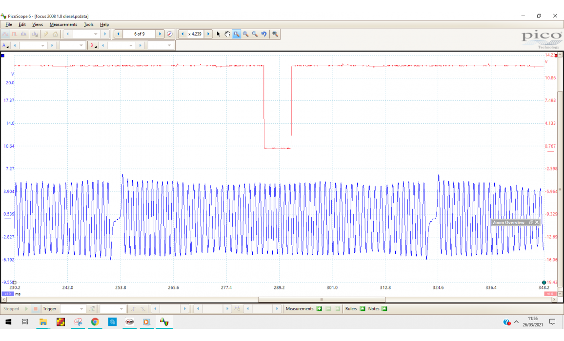 Good timing-CKP & CMP signal-Ford-Focus 2004-2011 : Image 3