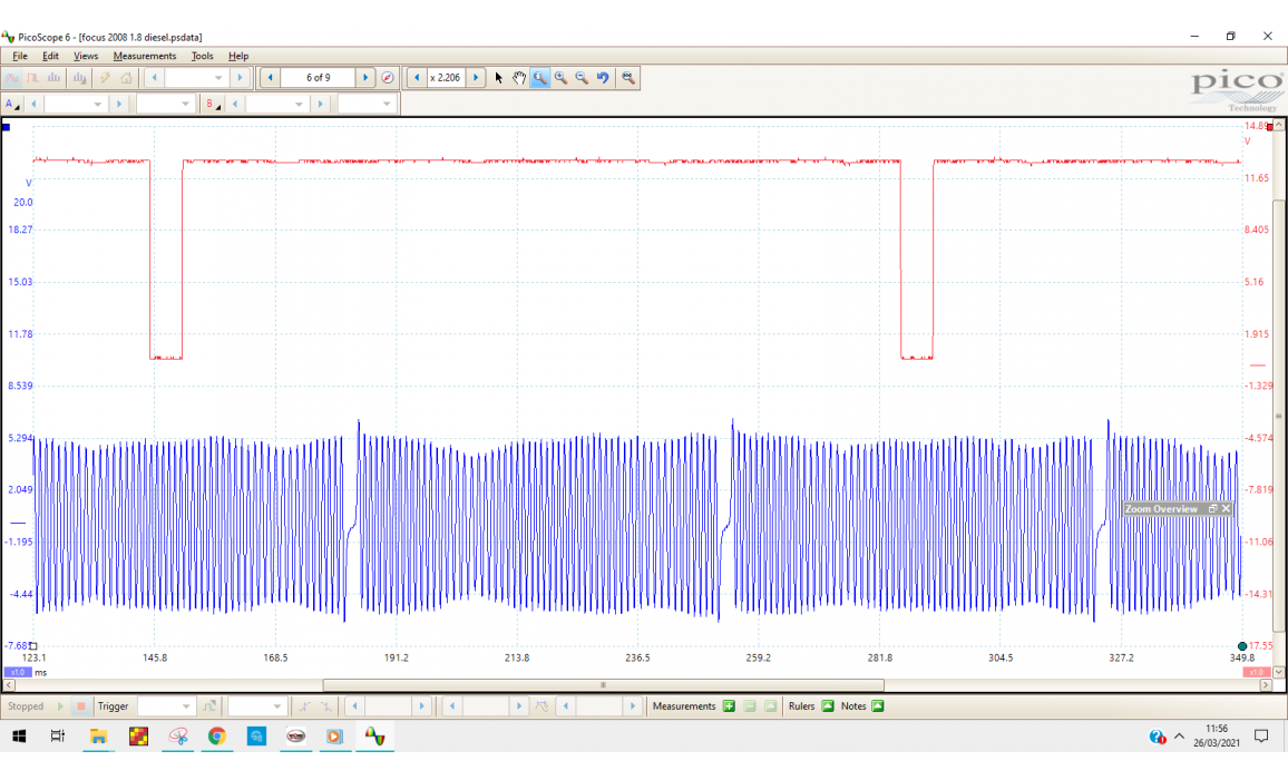 Good timing-CKP & CMP signal-Ford-Focus 2004-2011 : Image 2