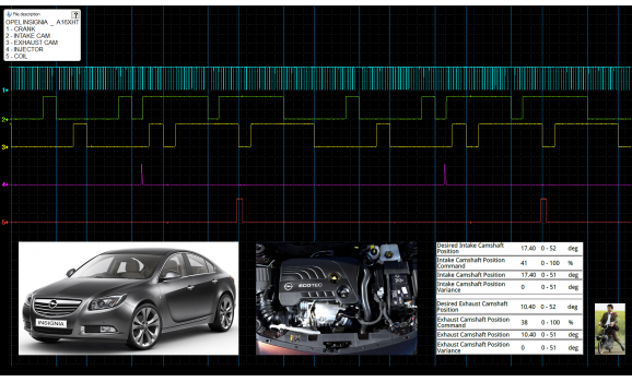Good timing-CKP & CMP signal-Opel-Insignia 2008- : Image 1