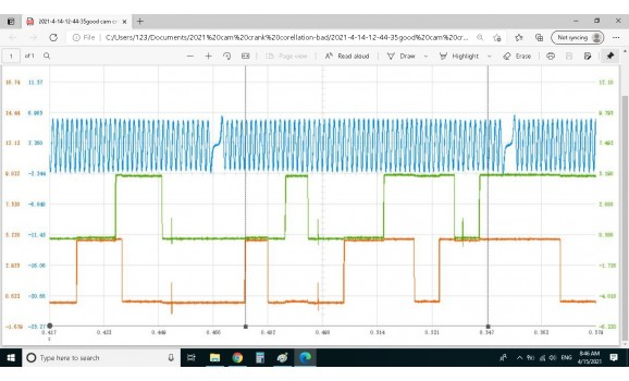Good timing-CKP & CMP signal-KIA-Cerato / Forte 3 2018- : Image 1